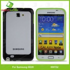 for galaxy i9220 pc material phone case with silicon border