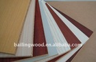 all kinds color of Melamine Faced MDF with factory