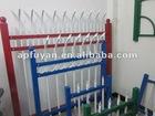 PVC various garden palisade fence