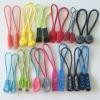 Fancy plastic pvc zipper puller