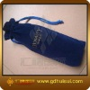 fashionable wine bottle velvet bag