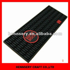 3D OEM logo soft pvc bar mat