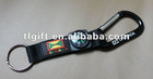 2012 New compass PVC strap/carabiner short lanyard with compass/compass+carabiner short strap/compass PVC strap