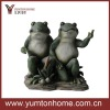 garden resin animals frog tabletop figurine sculpture