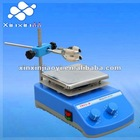 Temperature adjustable magnetic stirrer with hot plate for laboratory chemicals