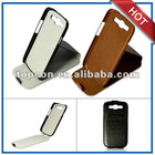 anti radiation leather stand case for s3