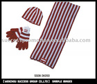 FAN SCARF,HAT,GLOVE SET