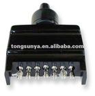 Trailer Connector,7 Pin Flat Trailer Light Plug-Male