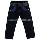 Dark Blue Cotton Drill Boys Pant