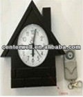 HD Remote Control Wall Clock DVR with TF Card
