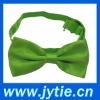 Green Satin Bow Ties For Young