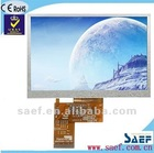"5.00""inch 800*(RGB)*480 W-VGA Landscape Color TFT LCD module display with Touch Screen Panel"