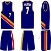 100% polyester dri fit basketball jersey/basketball uniform