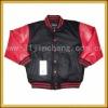 good style pu sleeve jacket