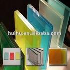 Laminated glass 3mm-15mm for building(cristal/vidrio laminado)