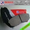 Reeoc Ceramic brake pads for Nissan/Infiniti cars