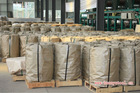 Steel strapping band steel packing material