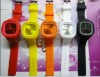 colorful Jelly silicone watch