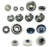 Plastic pulley ball bearings