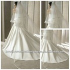 Hot Sale 2.5M~3M Wedding Long Veilsin Ivory / White Color