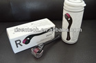 Newest arrival! ZGTS roller with 540 needles titanium micro needle therapy dermaroller for skin care beauty derma stamp