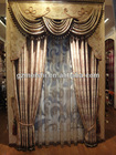 2012 hot sale classic blackout window curtain design with volie