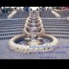 outdoor waterfall water fountain