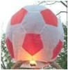 Flying lantern (kong ming deng) with football Shape