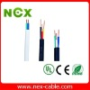 Copper wire braided screen control cable