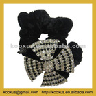 Boutique style French hair band with full rhinestone