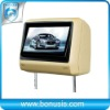 Electronic anti-shock feature Headrest
