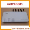 8 channels VoIP GSM Gateway / Gateway GSM-VoIP /GOIP / GOIP8 / VoIP GSM Gateway for IP PBX application