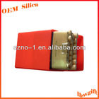 Standard Size for 20 pieces Soft hand feel customized silicon cigarette case