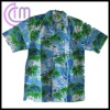 men's short sleeve rayon shirt