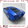 Portable Amplifier with USB SD Card Mp3 Mini Car Speaker F12