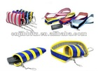 Zippered bag with carabiner
