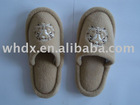 Eva fashion hotel slipper with polyester material