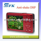 Wholesales Fixed Lens Face Detect Still Digital Camera Rechargable Li-ion battery Sports Camera