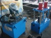Steel coil roll forming machine