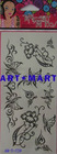 Body Tattoo Sticker Henna Sticker Tattoo Stencils AM-T-229 ART-MART