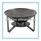 Cast iron fire pit for outdoor & garden