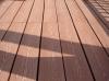 WPC decking floor of courtyard