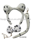 Mottle dog hairpin series,beauty set
