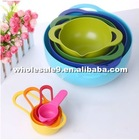 Hot sale 8 sets colorful bowls