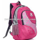 2012 new fashion canvas backpack wholesale for teenage girls