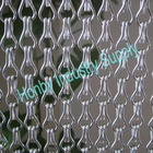 2012 Fashion 12mm Sliver Decorative Aluminium Chain Fly Screen