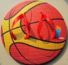 EVA basketball printed board slipper as gift