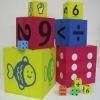 EVA dice for kids