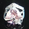 Elegant Lovely Heart-shape Finger Ring With Cheap Price