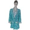 100% polyester polar fleece lady's bathrobe